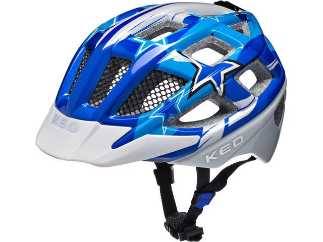 KED Kailu Helmet Kids Blue Stars